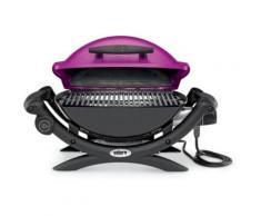 Weber Q1400 FUCHSIA + 17057 - Barbecue électrique