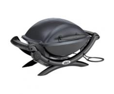 Weber Q 1400 DARK GREY + 6557 - Barbecue électrique
