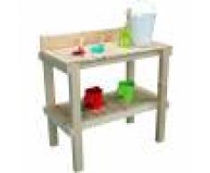 SOULET Table à rempoter en bois pour enfant - Reglisse