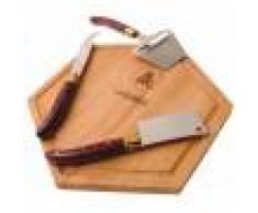 Laguiole Plateau fromages et ses couteaux