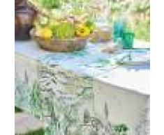 Garnier Thiebaut Chemin de table métis lin & coton multicolore 50x150