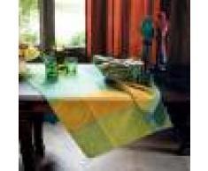 Garnier Thiebaut Chemin de table pur coton multicolore 155X55