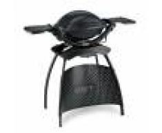 Weber Barbecue électrique gris anthracite avec stand