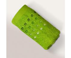 Serviette invité 33x50 cm 100% coton 550 g/m2 PURE PRIMAVERA Vert Pistache