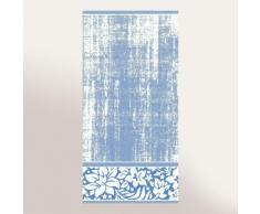 Serviette invité 33x50 cm 100% coton 500 g/m2 TOSCA CLASSIQUE Bleu