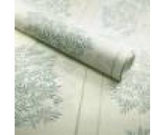 Papier peint vinyle sur intissé - Botanique - Arbuste vert pastel - Rouleau(x)