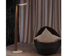 SWAN FLOOR-Lampe de lecture LED Bois Tactile H135cm chêne Tunto