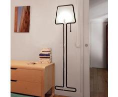 TALL-Applique 'lampadaire' H1,77m Noir Pa Design - designé par Alice Rosignoli