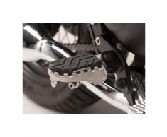 SW-Motech Kit de repose-pieds ION - Triumph Bonneville/T100 (04-16), Scrambler (05-)., noir-argent