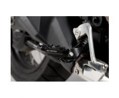 SW-Motech Extension de repose-pieds - Noir. Honda CRF 1000L/Adv Sports, CRF1100L AS., noir-argent