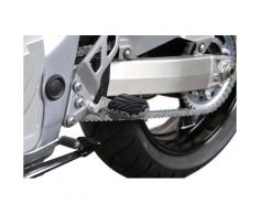 SW-Motech Kit de repose-pieds ION - Suzuki GSR600 / GSF1250/S / GSX650/1250F., noir-argent