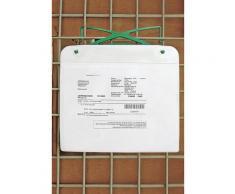 Porte-documents magnétique avec crochet et bande magnétique, pour format A5