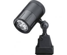 Lampe industrielle 24 V aluminium anodisé, noir   Waldmann