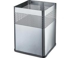 Corbeille à papier carrée capacité 18 l, l x h x p 240 x 325 x 240 mm | helit