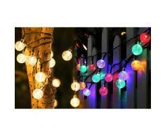 Guirlande lumineuse avec 20 ampoules : Multicolore / 2