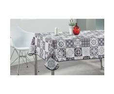 Nappe de table : Panots bleu / 350 x 150 cm