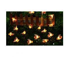 1x Guirlande solaire LED Abeilles