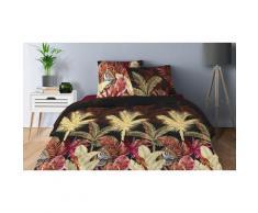 Parure de lit en coton : 240 x 260 cm / Palmier