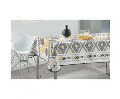 Nappe de table : Yellow Zig-zag / 130 x 150 cm