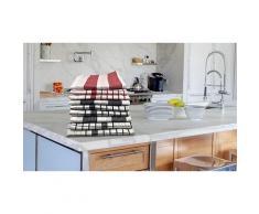 Lot de torchons de cuisine : 9 torchons à rayure et carreaux / 2