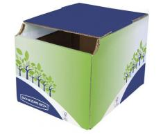 Corbeille de tri sélectif pour le recyclage des papiers - 16L - Lot de 5