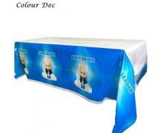 Nappe jetable en plastique Baby Boss, 1 pièce/paquet, couverture de table jetable, décorations de