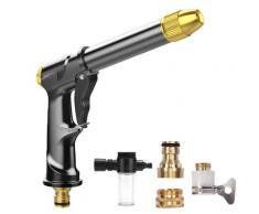 Pistolet à eau haute pression Portable, pour le nettoyage de la voiture, Machine à laver le jardin,