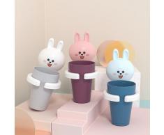 Porte-gobelet de brosse à dents pour enfants, étagère murale pour bébé, tasse de bain de bouche,