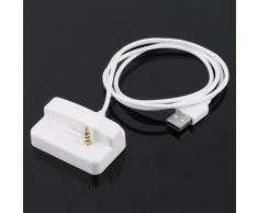 Station d'accueil de remplacement avec chargeur USB et synchronisation, berceau pour Apple et iPod