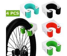 Support mural Vertical pour vélo, boucle de stationnement, crochet de montage mural