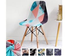 Housse de chaise de Bar, petite taille, protection de chaise imprimée, pour Banquet, mariage, hôtel,