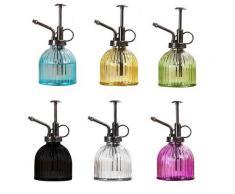 Pot d'arrosage en verre pour plantes et fleurs, brumisateur d'eau de 300ml, vaporisateur,