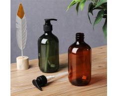 Distributeur Portable de savon de salle de bain, contenance de 300/500ml, pour Lotion, shampoing,