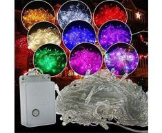 Guirlande lumineuse LED imperméable d'extérieur, 5M 10M 20M 30M 50M 100M, pour vacances, noël,
