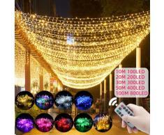 Guirlande lumineuse LED 10M – 100M, guirlande d'extérieur, décoration de jardin, pour la maison,