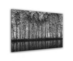 Tableau nature pointillisme Toile imprimée