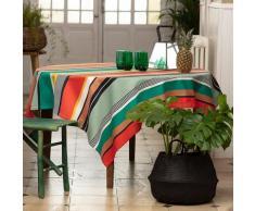 Nappe enduite multicolore 160x300