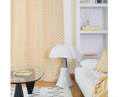 Rideau jaune 150x250