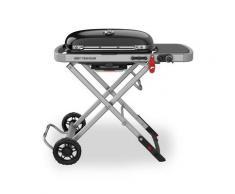 Barbecue à gaz chariot pliable intégré