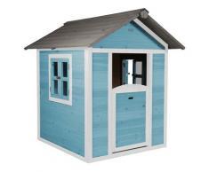 Maisonnette en bois bleue