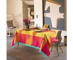 Nappe pur coton multicolore 155x225