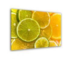 Tableau tranches de citron Toile imprimée