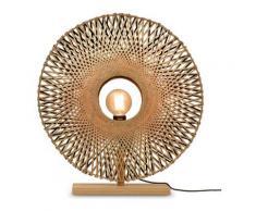 Lampe de table en bambou H65cm