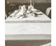 Chemin de table en lin naturel 50x150