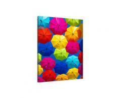 Tableau ciel de parapluies Toile imprimée