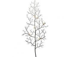 Porte-manteau fourmis dorées et arbre en acier H160