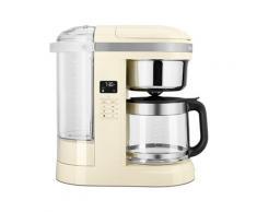 Machine à café électrique crème 1,7 L 1100 W 5KCM1209EAC Kitchenaid