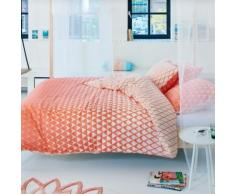 Housse de couette satin Mina Coral ESPRIT HOME, 200 x 200 cm