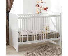 Lit bébé Savana blanc,