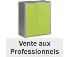 Armoire portes battantes fun color h 100 cm